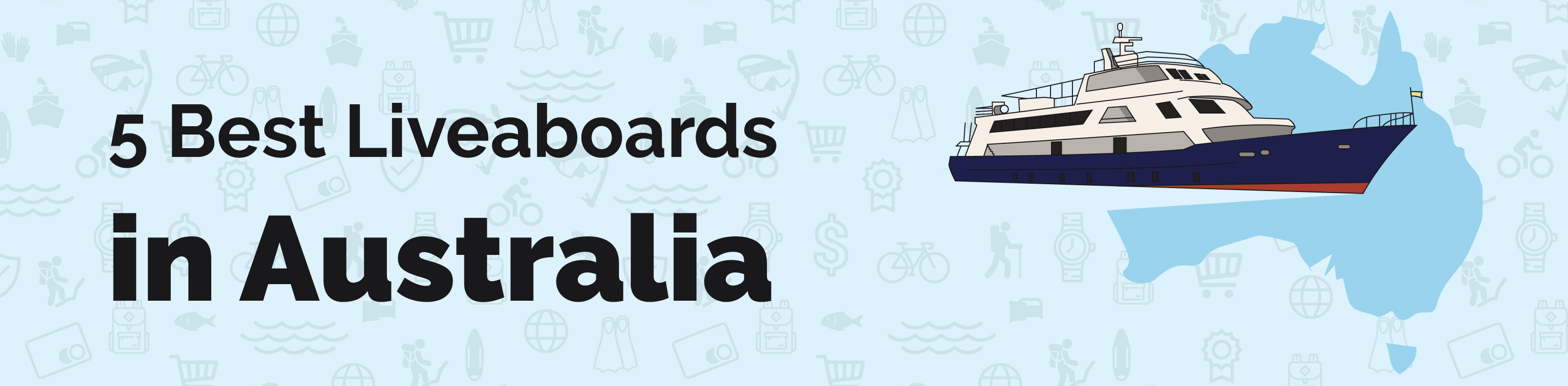 australian liveaboard reviews banner