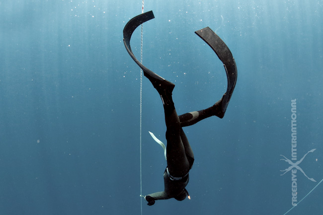 example of freediving fins