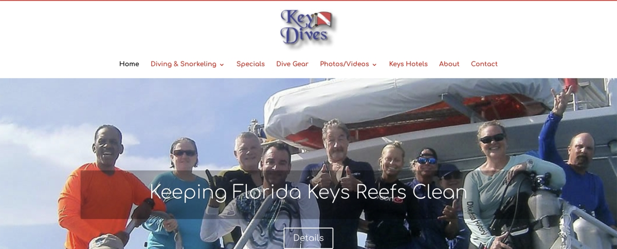 keys dive site