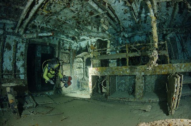 USS Spiegel Grove dive site keys