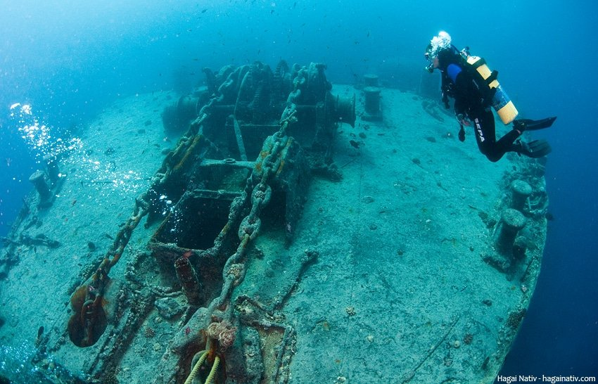 thistlegorm wreck in the red sea, egypt