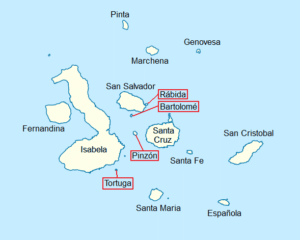 galapagos simple map