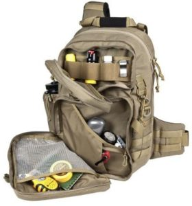 Inside Maxpedition Gear Sling Backpack