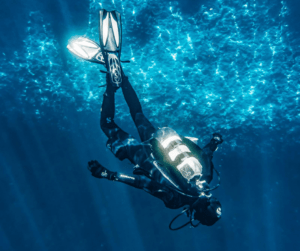 Drift diving is where you scuba dive and ride the ocean currents from the start to the finish of your dive