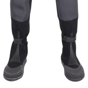 Integrated drysuit boots