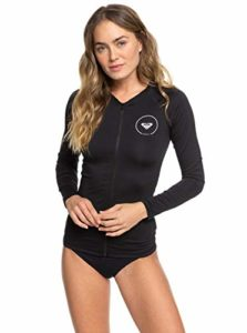 Roxy Essentials Zip Up Rash Guard