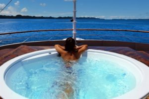 Solitude One Philippine Liveaboard Jacuzzi