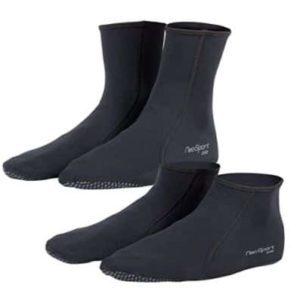 Neoprene socks for snorkeling