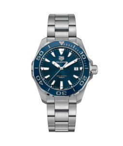 Tag Heuer Blue Dial mens dive watch