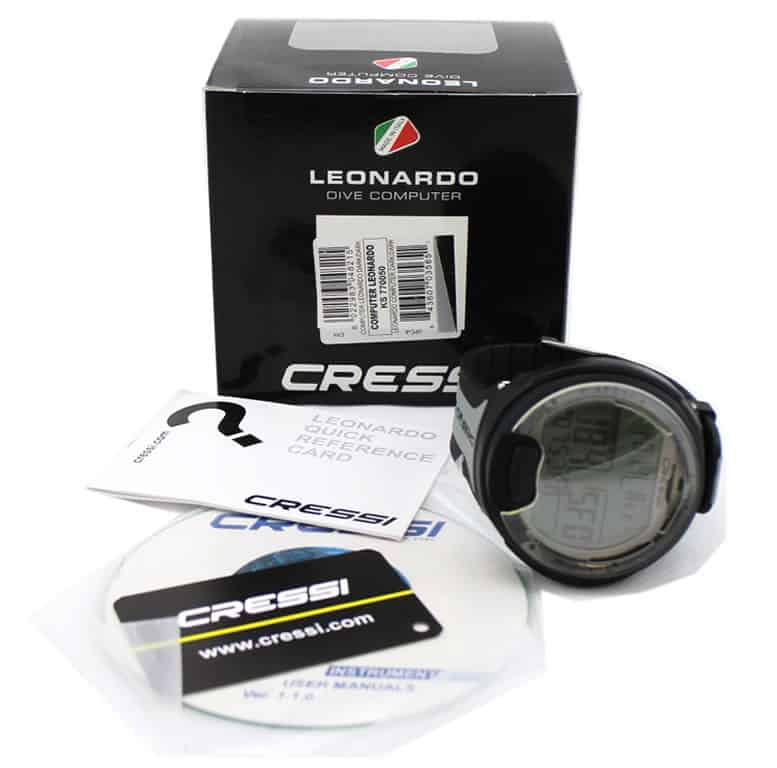 cressi leonardo dive computer with dvd