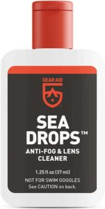 Gear Aid Sea Drops Scuba & Snorkel Mask Anti-Fog Treatment