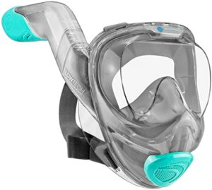 WildHorn Outfitters Seaview Full Face Snorkel Mask
