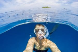 Difference between a scuba mask and a snorkel mask